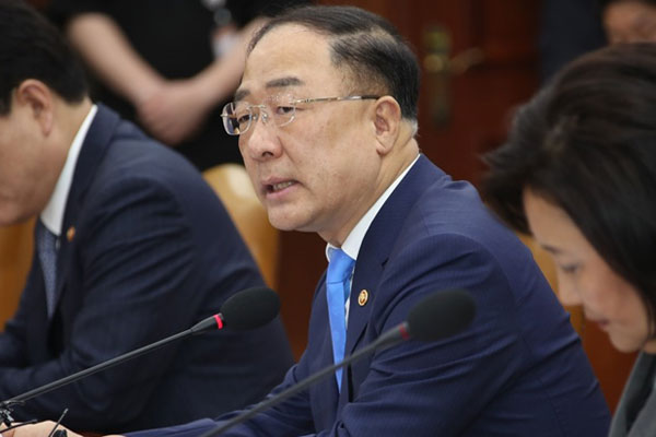 Finance Minister Says US-China Conflict Can Damage S. Korean Economy