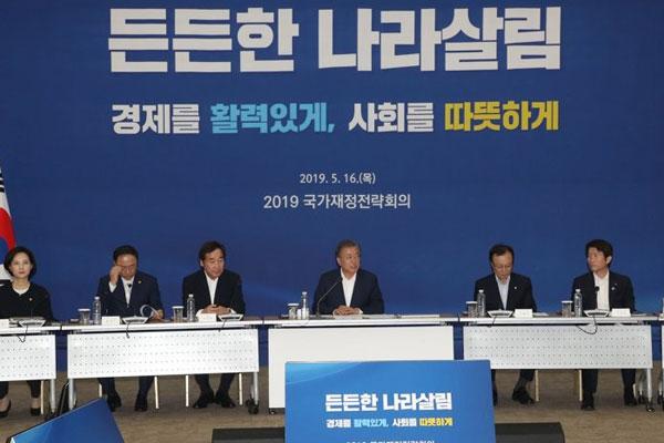 明年韩国预算或超500万亿韩元 国家债务占GDP比重逾40%