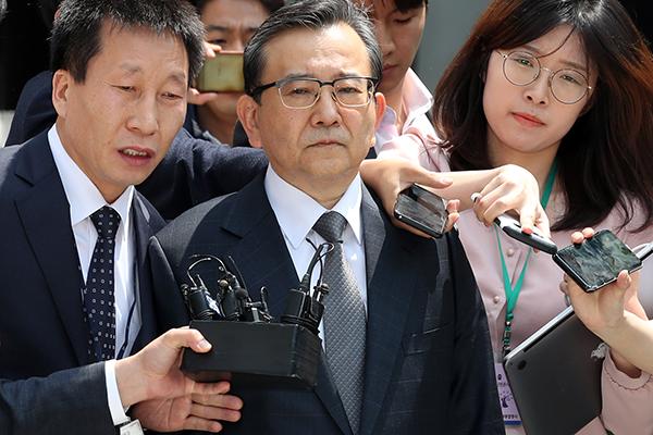 김학의 전 법무부 차관 구속 뒤 두 번째 검찰 출석