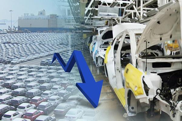 수출·내수 동반 둔화…자동차판매 글로벌금융위기 이후 최소