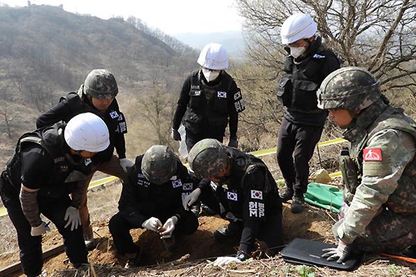 Toujours pas de réponse de Pyongyang à la recherche intercoréenne des dépouilles de soldats