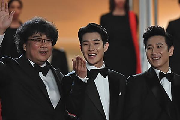 عرض فيلم الطفيلي الكوري في مهرجان كان
