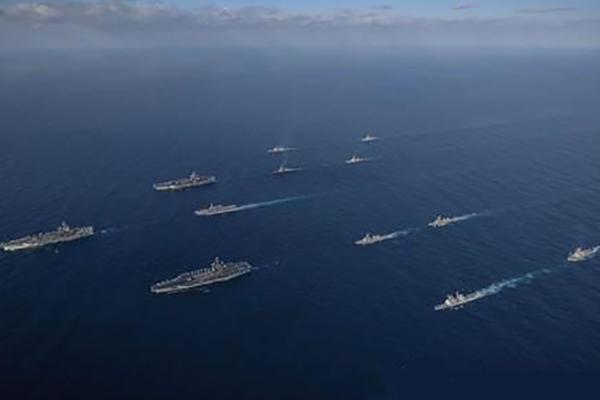 سيول وطوكيو تشاركان في مناورات بحرية في المحيط الهادئ