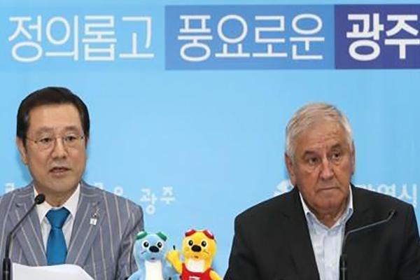 光州世界水泳選手権への参加困難 北韓の意向