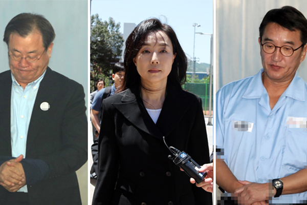이병기·조윤선 등 '박근혜 정부 경찰에 불법정보 수집 지시' 혐의 기소 의견 송치