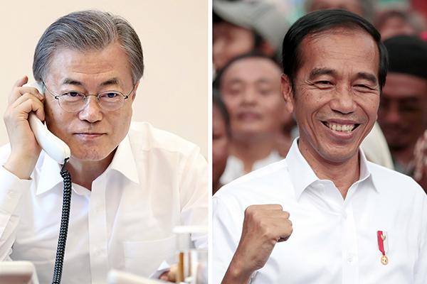 Moon Ucapkan Selamat Kepada Jokowi atas Kemenangan Pemilu 2019