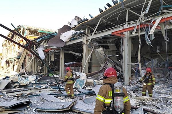 مصرع شخصين في انفجار خزانات هيدروجين في كانغ ننغ