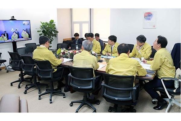 강릉 수소탱크 사고 관련 산업부 긴급 점검회의