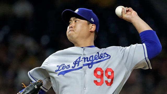 Dodgers' Ryu Hyun-jin Earns 7th Win of the Season