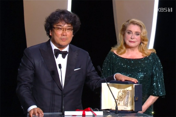 Bong Joon-ho Wins Top Prize at Cannes Film Festival with 'Parasite'