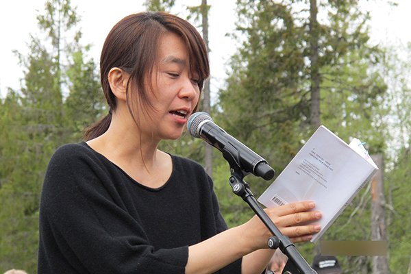 """Nhà văn Han Kang trao bản thảo tiểu thuyết cho """"Thư viện tương lai"""" của Na Uy"""