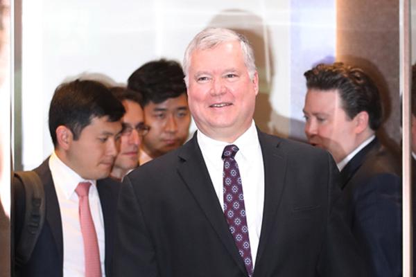 US-Gesandter kommt für Vorbereitung des Moon-Trump-Gipfels nach Seoul