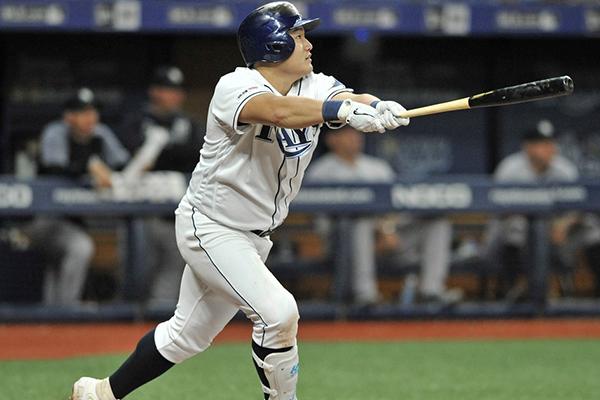 최지만, 시즌 14호 동점 스리런…MLB 개인통산 100타점 돌파