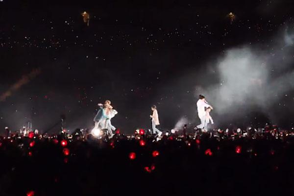 BTS arrasa en el Estadio de Wembley de Londres