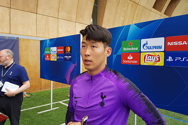 """France Football"" wählt Son Heung-min in Top-Elf der Champions League"