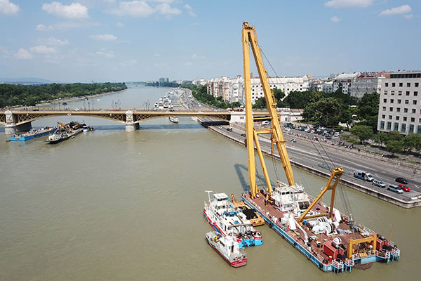 Salvaging of Sunken Boat in Hungary to Begin on Tues.