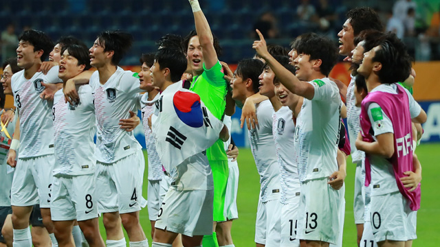 South Korea Men's U-20 Team Arrives in Lodz