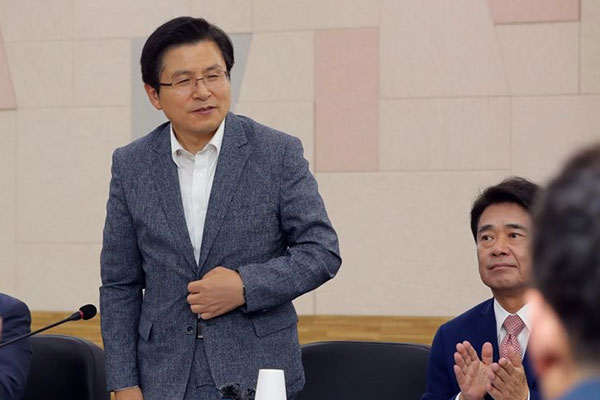 """황교안 """"의원정수 10% 줄여 일하는 국회 돼야"""""""