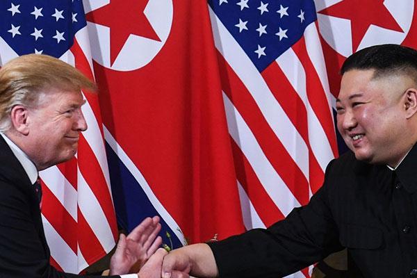 الرئيس ترامب لم يتوقع تلقي رسالة من الزعيم الكوري الشمالي