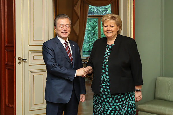 S. Korea-Norway Vow Enhanced Bilateral Cooperation