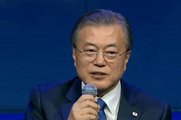 文在寅:美北首脑应尽快会晤 希望在韩美会谈前举行南北会谈