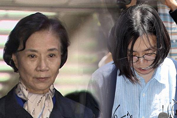 大韩家属赵显娥和李明姬均被判处缓刑
