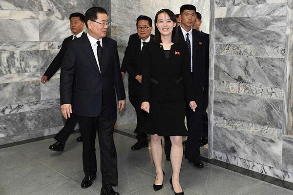 북한, 김여정 보냈지만 비판논조는 여전…'민족공조' 강조