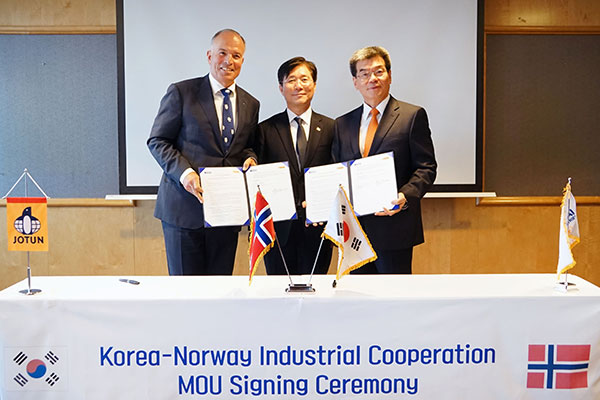 S. Korea, Norway to Jointly Develop Robots, Future Ships
