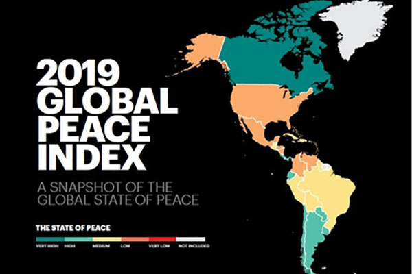 '평화로운 나라' 순위서 한국 55위…북한 최하위권 149위