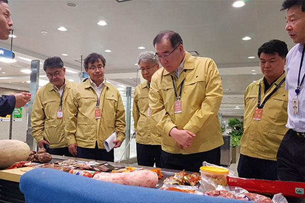 '아프리카돼지열병 방지' 공항ㆍ항만 검역 점검