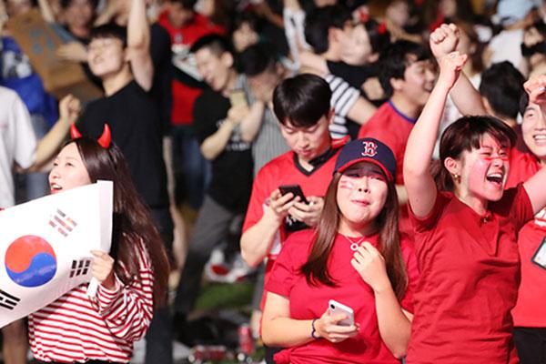 U-20 축구 결승 응원전 서울 월드컵경기장에서...광화문 광장은 취소