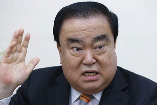 韓国国会議長「天皇発言」で謝罪「心を痛めた方々に申し訳ない」