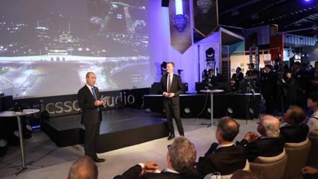 Moon asiste a una demo de 5G en Suecia con el rey Carlos Gustavo