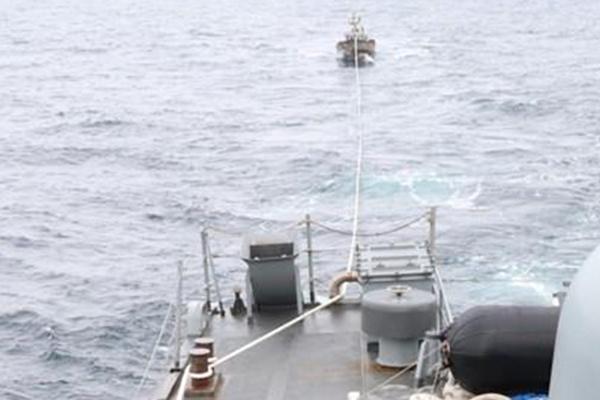 北韓漁船が三陟沖合いを漂流 警戒監視網では把握できず