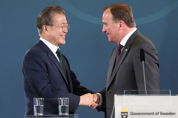 Corea y Suecia mantienen una cumbre para estrechar alianzas