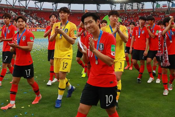 Fußball: Südkoreas U20 nach Niederlage gegen Ukraine WM-Zweiter