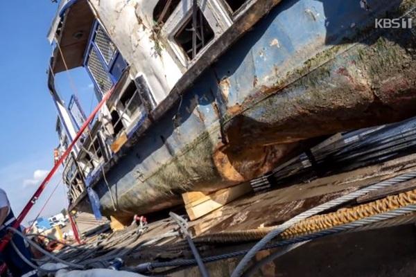 Kapal Wisata 'Hableany' Diperkirakan Berputar di Dalam Sungai Setelah Tenggelam