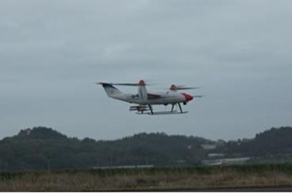 Un test de pluie artificielle à l'aide d'un avion sans pilote réalisé avec succès