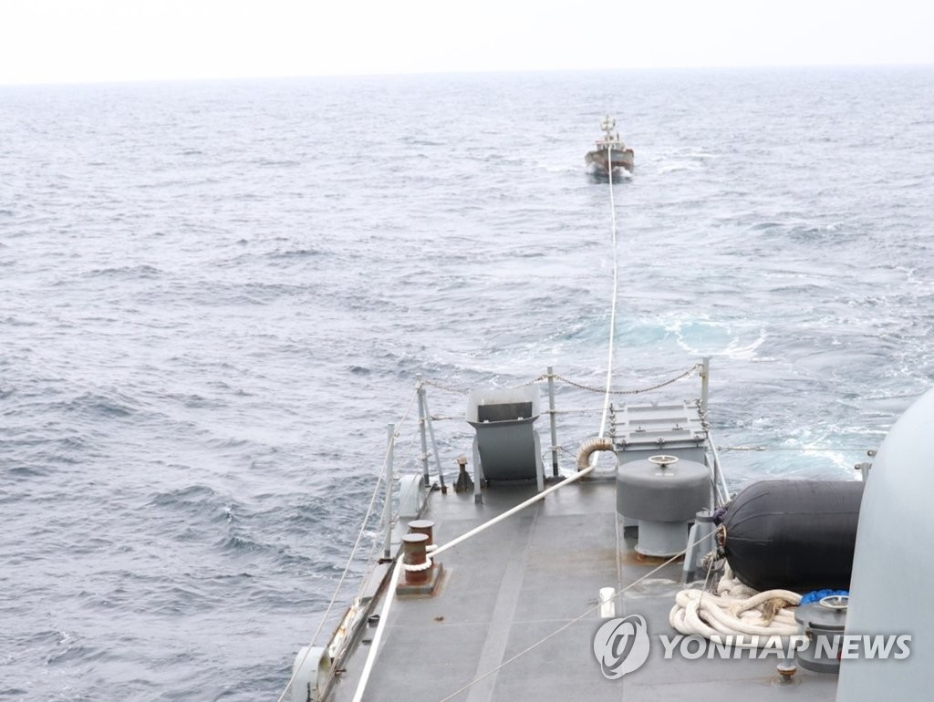 N. Korean Fishing Boat Found Adrift in South Korean Waters; Second in As Many Weeks