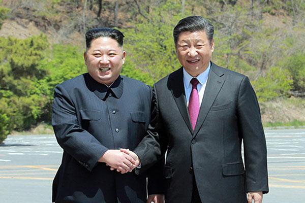 Chinas Präsident Xi Jinping besucht diese Woche Nordkorea