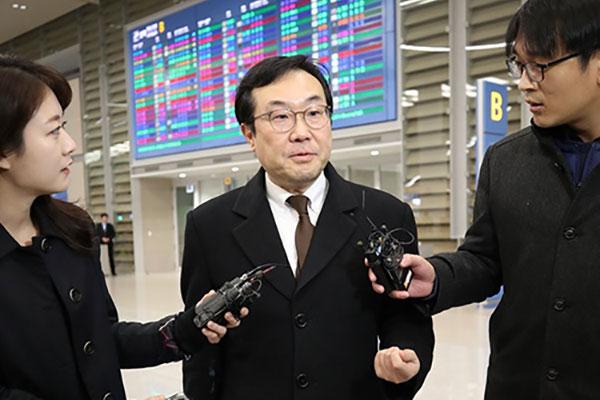 Ли До Хун отправляется с рабочей поездкой в Вашингтон