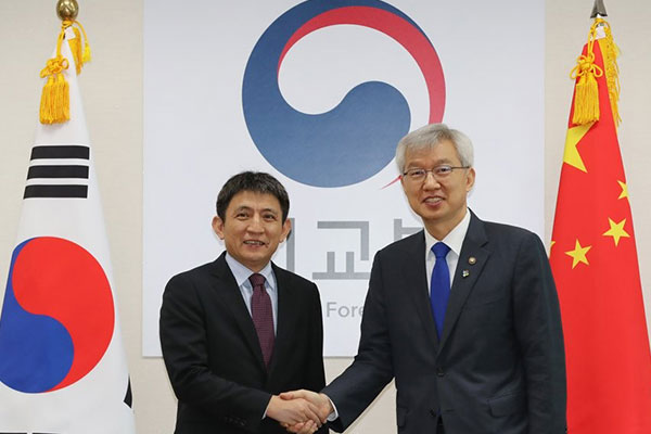 عقد لجنة اقتصادية مشتركة كورية صينية