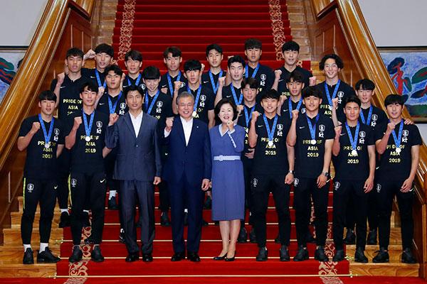 Presidencia agradece a la selección Sub-20 por enaltecer al país