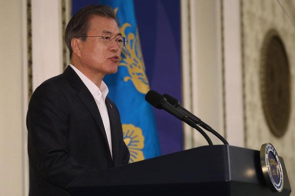 Präsident Moon bricht am 27. Juni zu G20-Gipfel in Japan auf