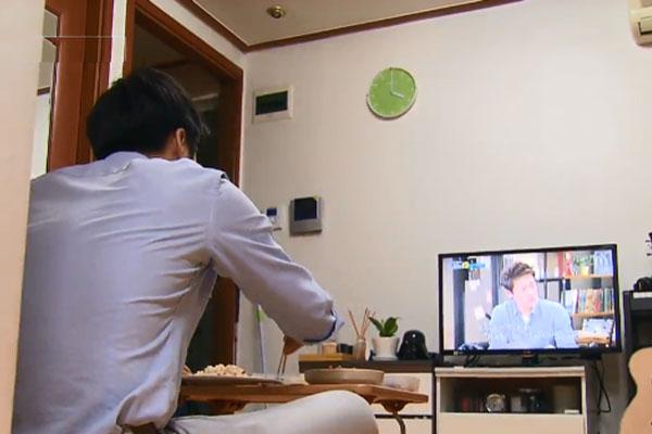 زيادة عدد  الأسر المكونة من فرد واحد  في كوريا الجنوبية
