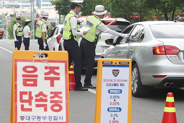 Alcool au volant : la police lance une campagne de contrôle selon les nouvelles règles