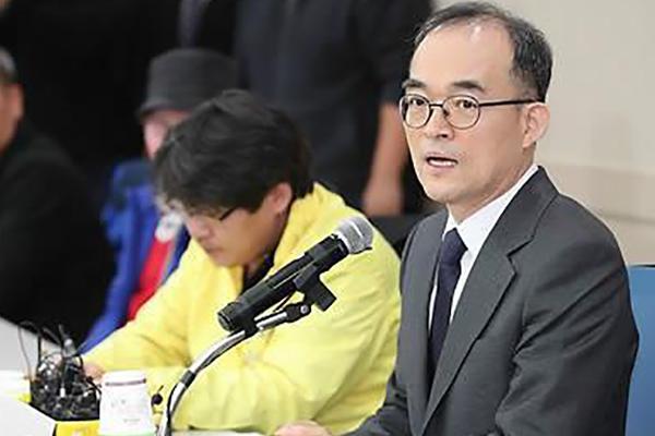 检查总长文武一就检方过去错误向国民道歉