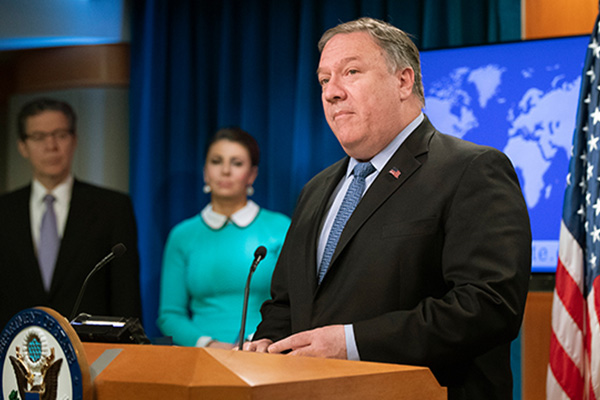 北韓、ポンペイオ国務長官を非難