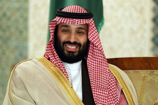 文在寅与沙特王储举行会谈
