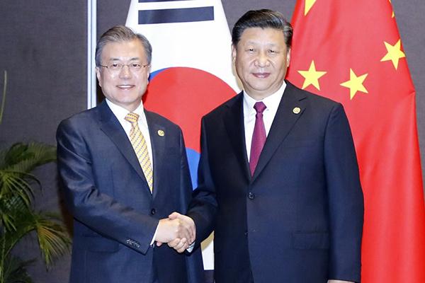Un sommet Séoul-Pékin cet après-midi en marge du G20 à Osaka